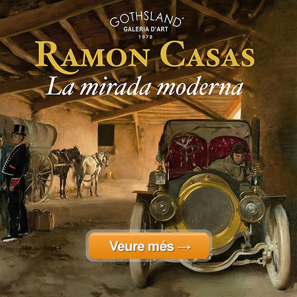 Exposició: Ramon Casas - La Mirada Moderna