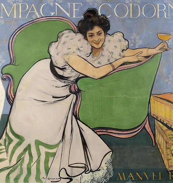 Lola Plumet, 1898. Col·lecció Codorniu