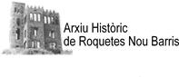 Logo Arxiu Històric Roquetes-Nou Barris