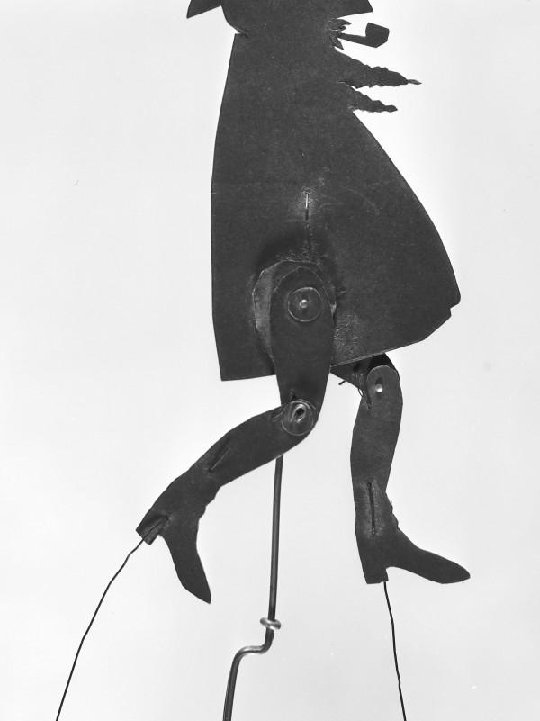 Disseny de Ramon Casas i realització de Josep Meifrèn, Maurici Vilomara. Ombres xineses per a teatre Els quatre Gats, cap a 1897-1898