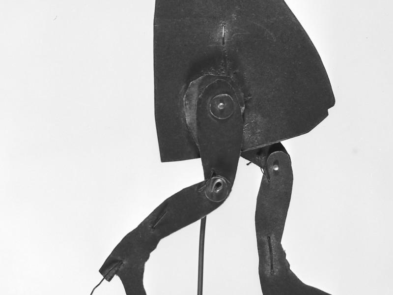 Diseño de Ramon Casas i realización de Josep Meifrèn,Maurici Vilomara. Sombras chinas para Els quatre Gats,  1897-1898