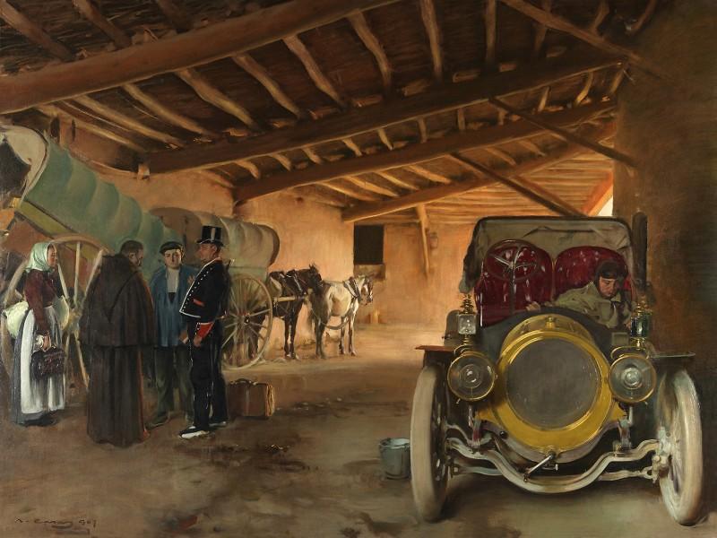 La cotxera. 1907