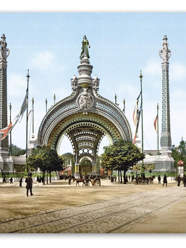 Puerta Binet. La Puerta monumental de entrada a la Exposición Universal de París