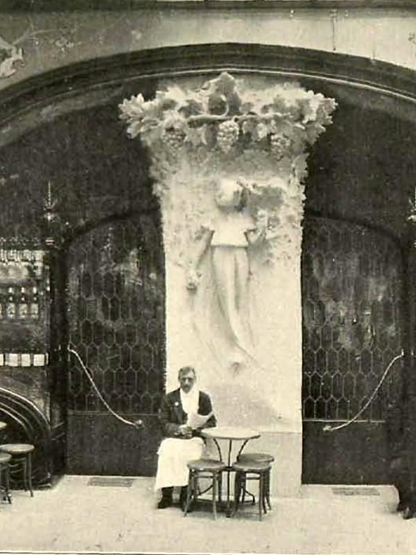 Cafè Torino. Façana del Passeig de Gràcia (1902)