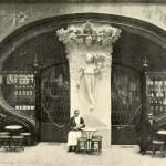 Café Torino. Fachada del Paseo de Gracia (1902)
