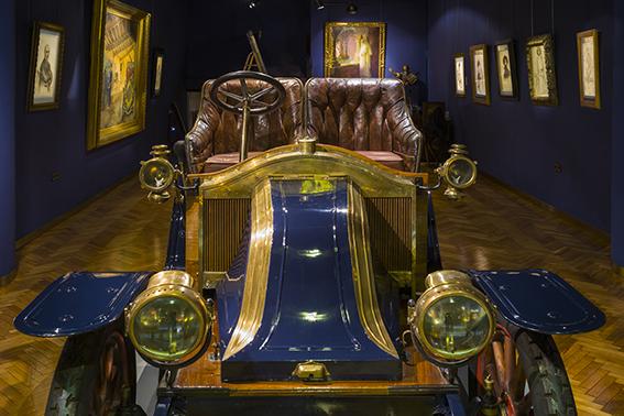 Renault AX 1908. Col·lecció Turi Riberaygua. Museu Nacional de l'Automòbil d'Andorra. Foto: Enrique Marco