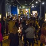 Visitantes en la expo de Ramon Casas. Foto: Enrique Marco