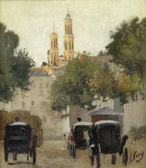 Pla de Palau. Óleo sobre tela, c. 1889.