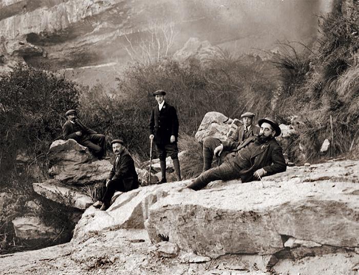 Ramon Casas en el Gran Cañón del Colorado. Fotografía, 1908.